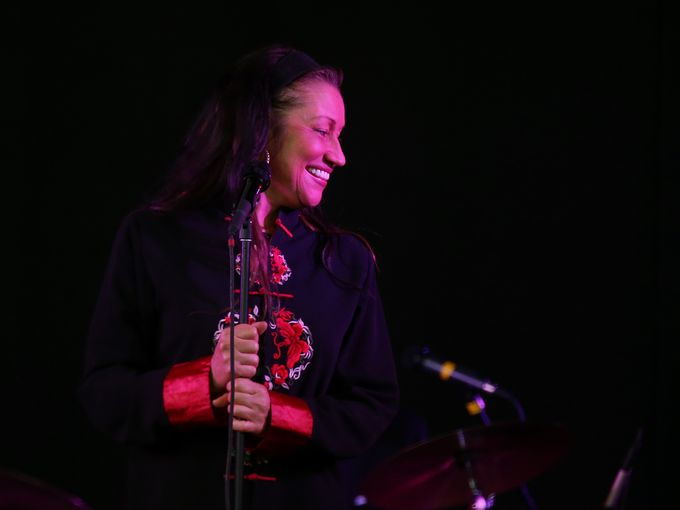Holly Cole performs at Harro East Ballroom on June 23, 2015. (Photo: Jamie Germano/@jgermano1/, STAFF PHOTOGRAPHER)